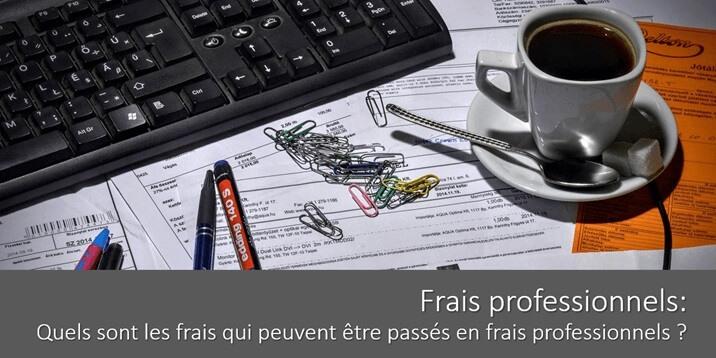 Frais professionnels: quels sont les frais qui peuvent être passés en frais professionnels ?