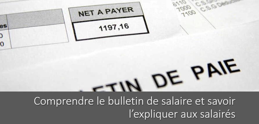 Comprendre Son Bulletin De Salaire Exemple De Fiche De Paie