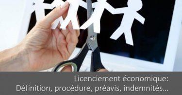 licenciement-economique-definition-procedure-preavis-indemnites