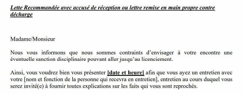 Licenciement D Un Membre Du Cse Quelle Procedure Modele De Lettre