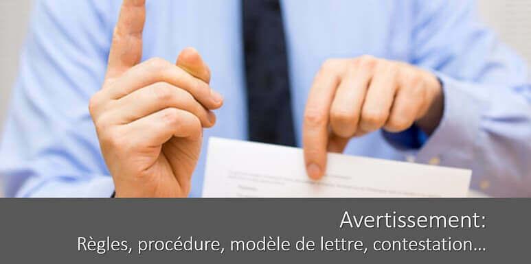 Avertissement de travail : règles, procédure, délais… tout savoir !