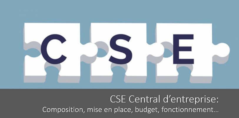 CSE central d'entreprise : composition, mise en place, budget, fonctionnement…