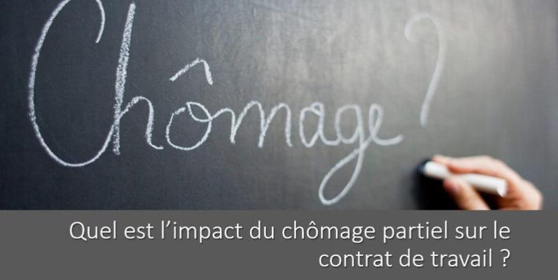 impact-chomage-partiel-contrat-travail