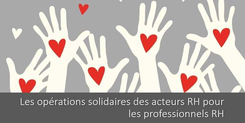 Les opérations solidaires des acteurs RH pour les professionnels RH