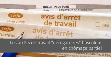 arret-travail-derogatoires-chomage-partiel