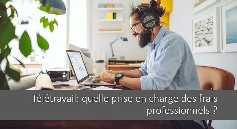 Télétravail: quelle prise en charge des frais professionnels ?