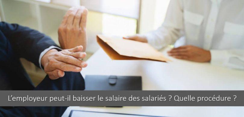 baisse-salaire-accord-salarie-procedure-reduire-remuneration
