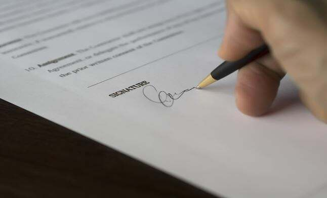 accord-transaction-clause-signature-effet-libératoire
