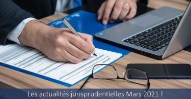 actualités-jurisprudentielles-mars-2021-jurisprudence-droit-travail-cour-cassation