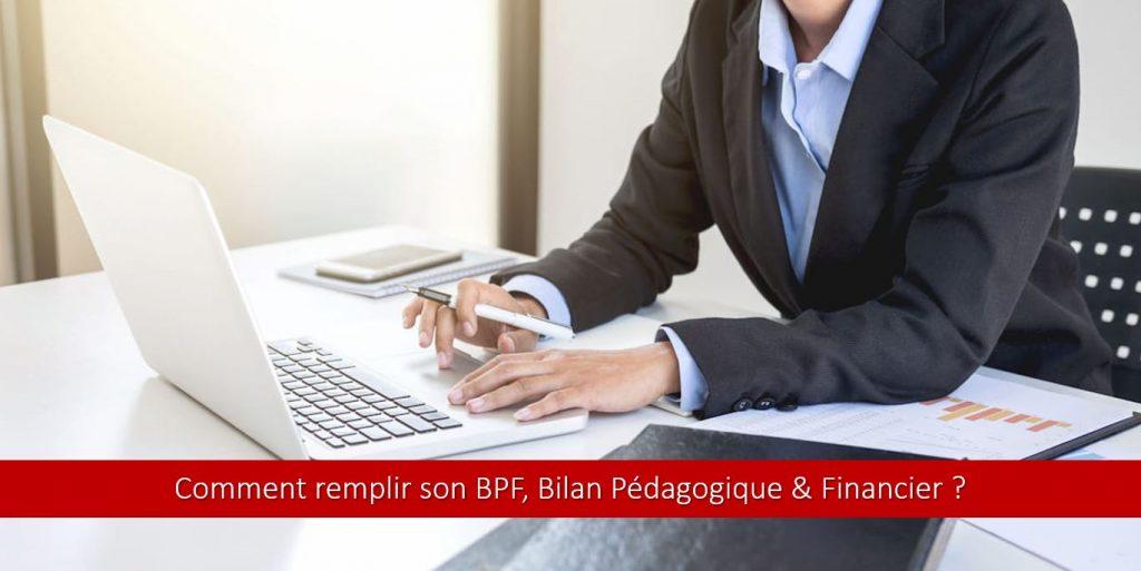 Comment remplir le BPF, bilan pédagogique et financier ?