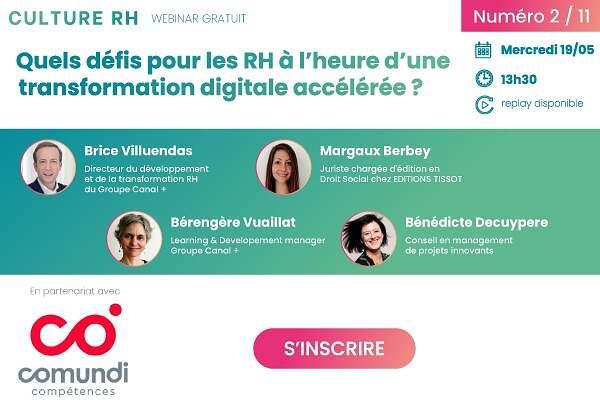 Quels défis pour les RH à l'heure d'une transformation digitale accélérée ?
