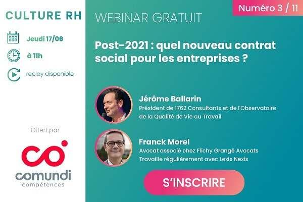 Post-2021 : quel nouveau contrat social pour les entreprises ?