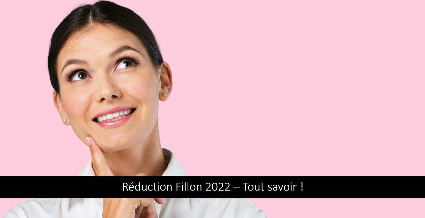 Réduction Fillon 2022 : comment la calculer ? Quel taux ? Tout savoir !