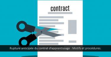 rupture-anticipée-contrat-apprentissage-motifs-procédures